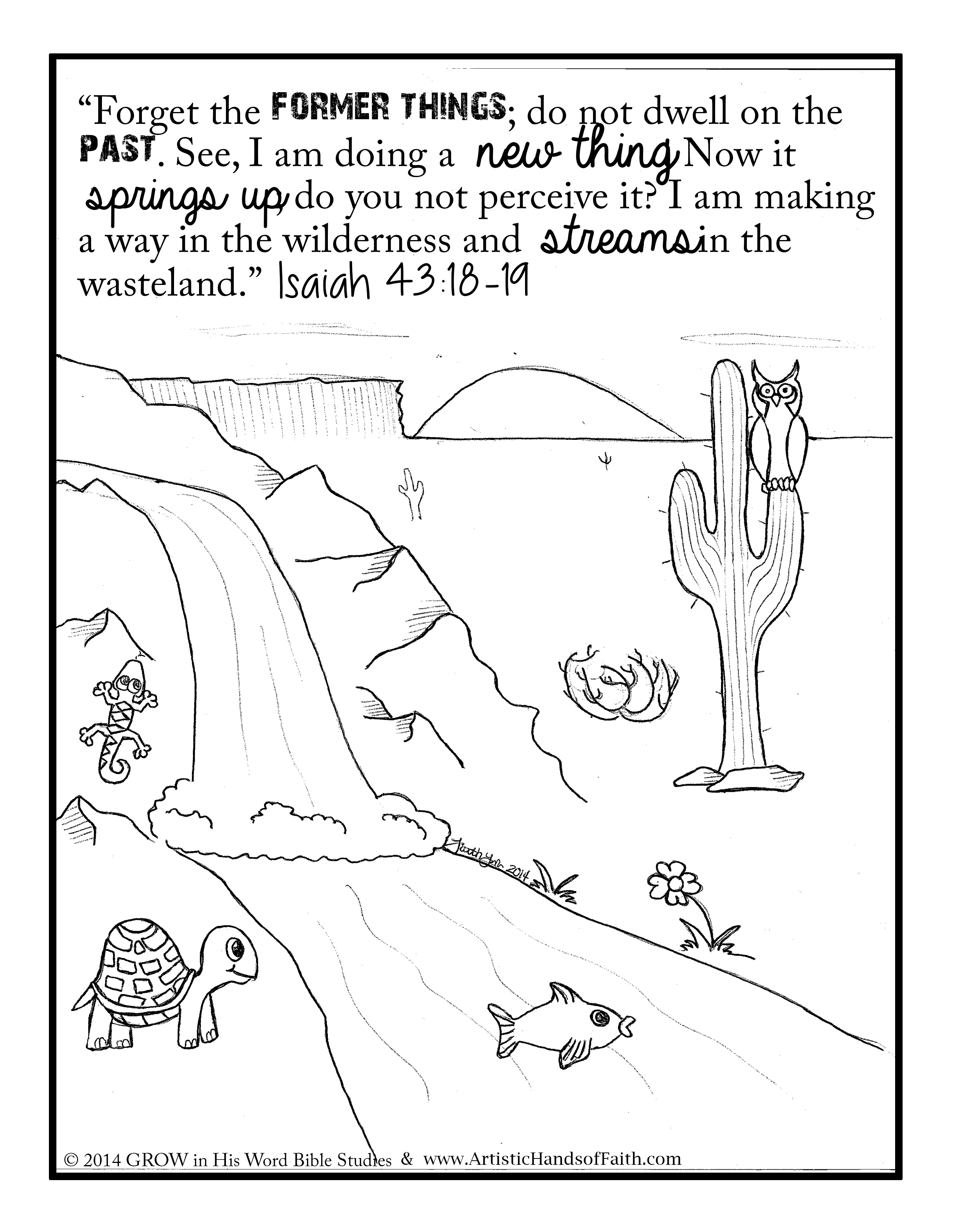 isaiah 9 coloring pages