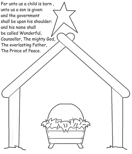 Isaiah 6 coloring page coloring pages for Isaiah 9 6 coloring page