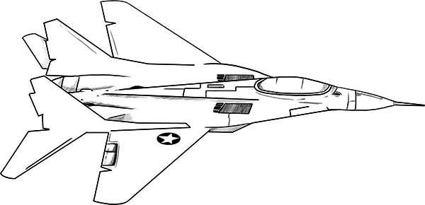 Jet coloring page only coloring pages for Coloring page jet