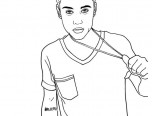 justin bieber coloring pages 2015