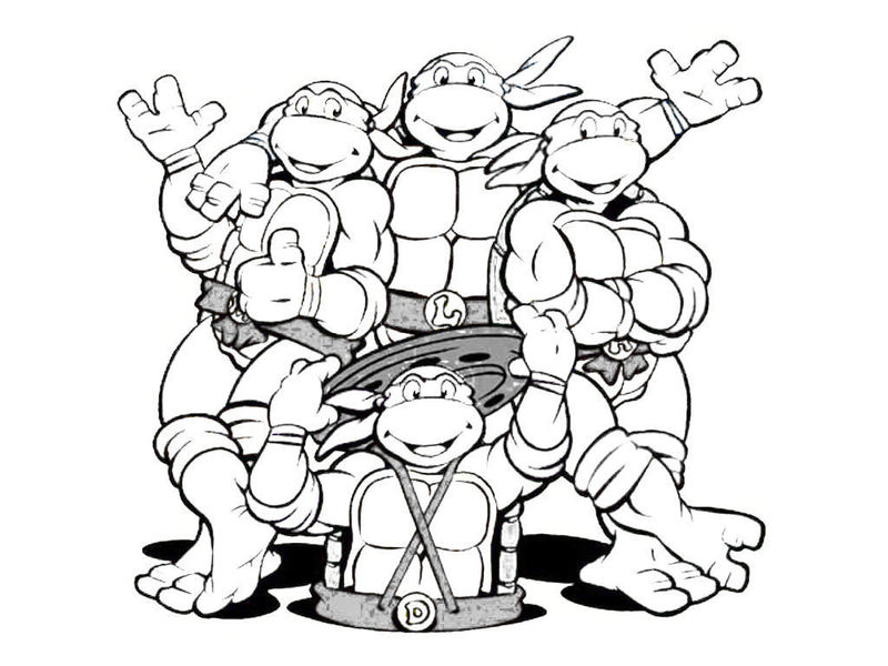 Ninja turtles coloring pages only coloring pages for Ninja coloring pages for adults