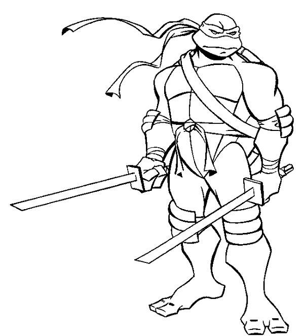 printable coloring pages ninja turtles - photo#20