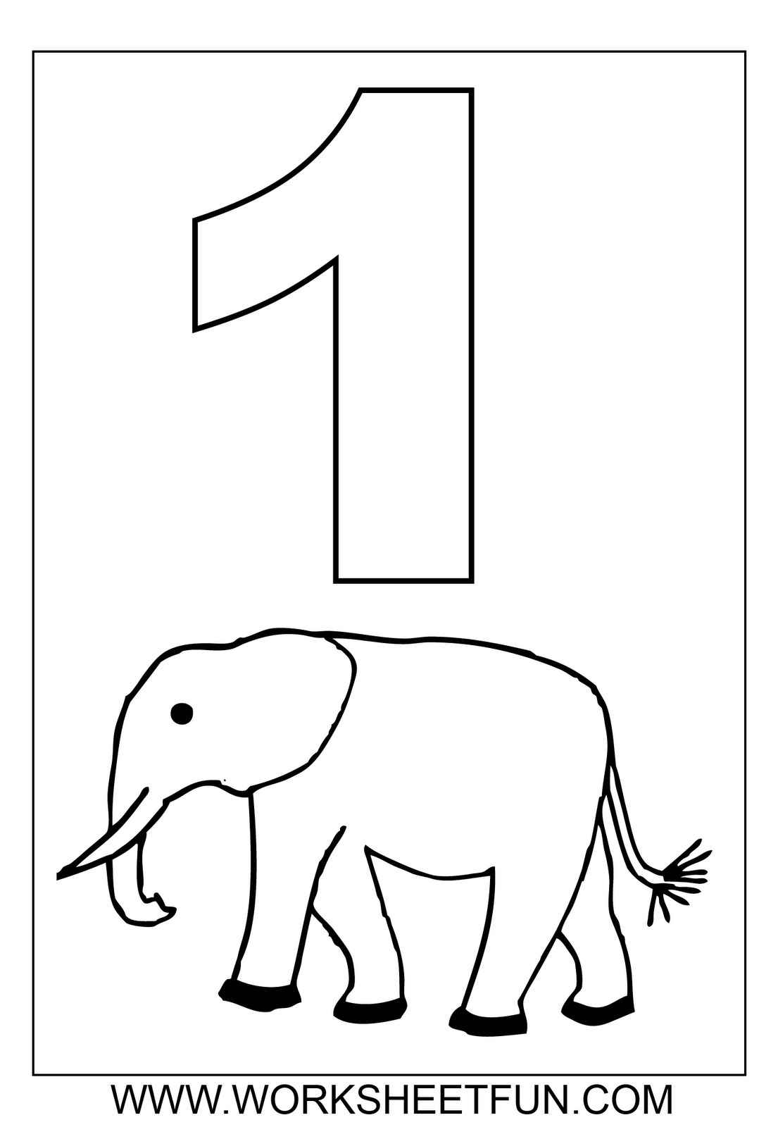Numbers colouring sheets only coloring pages for Number 11 coloring page