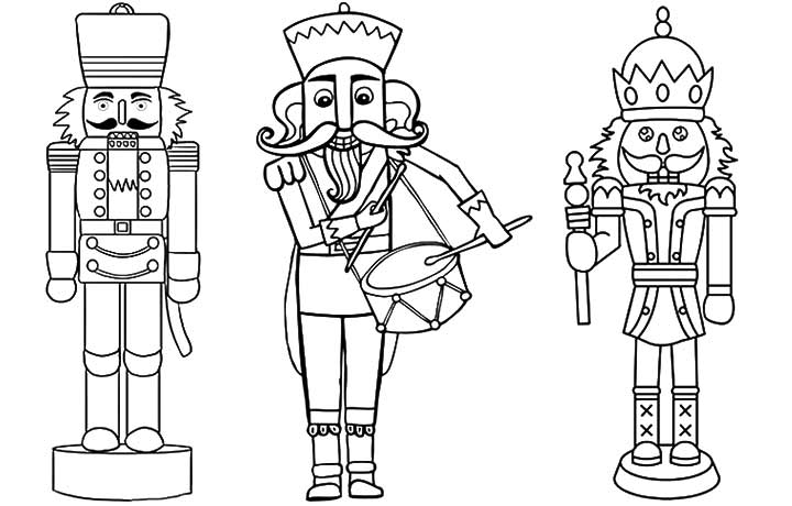 Nutcracker Coloring Pages 01