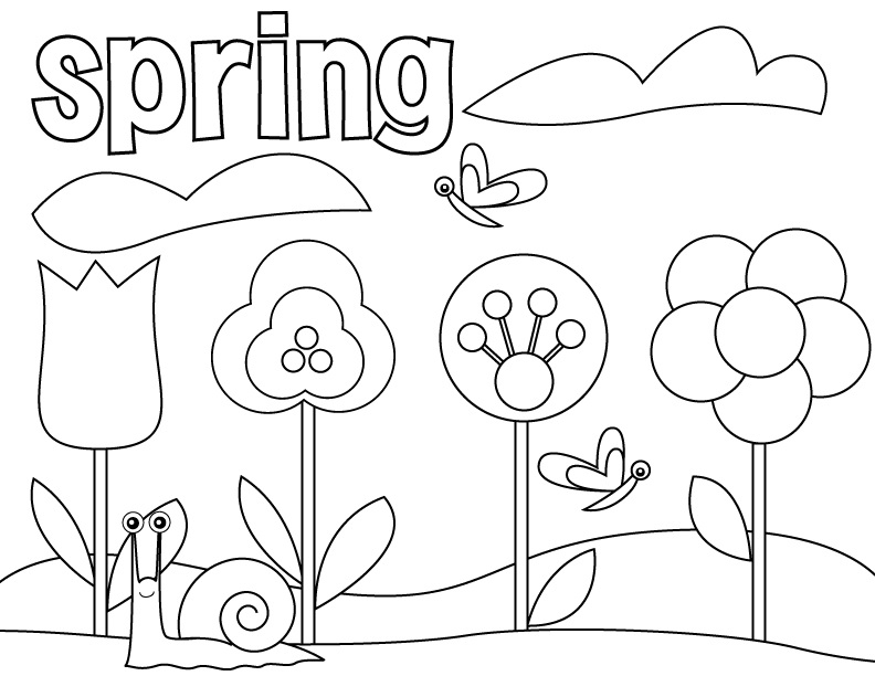 preschool free coloring pages - photo #39