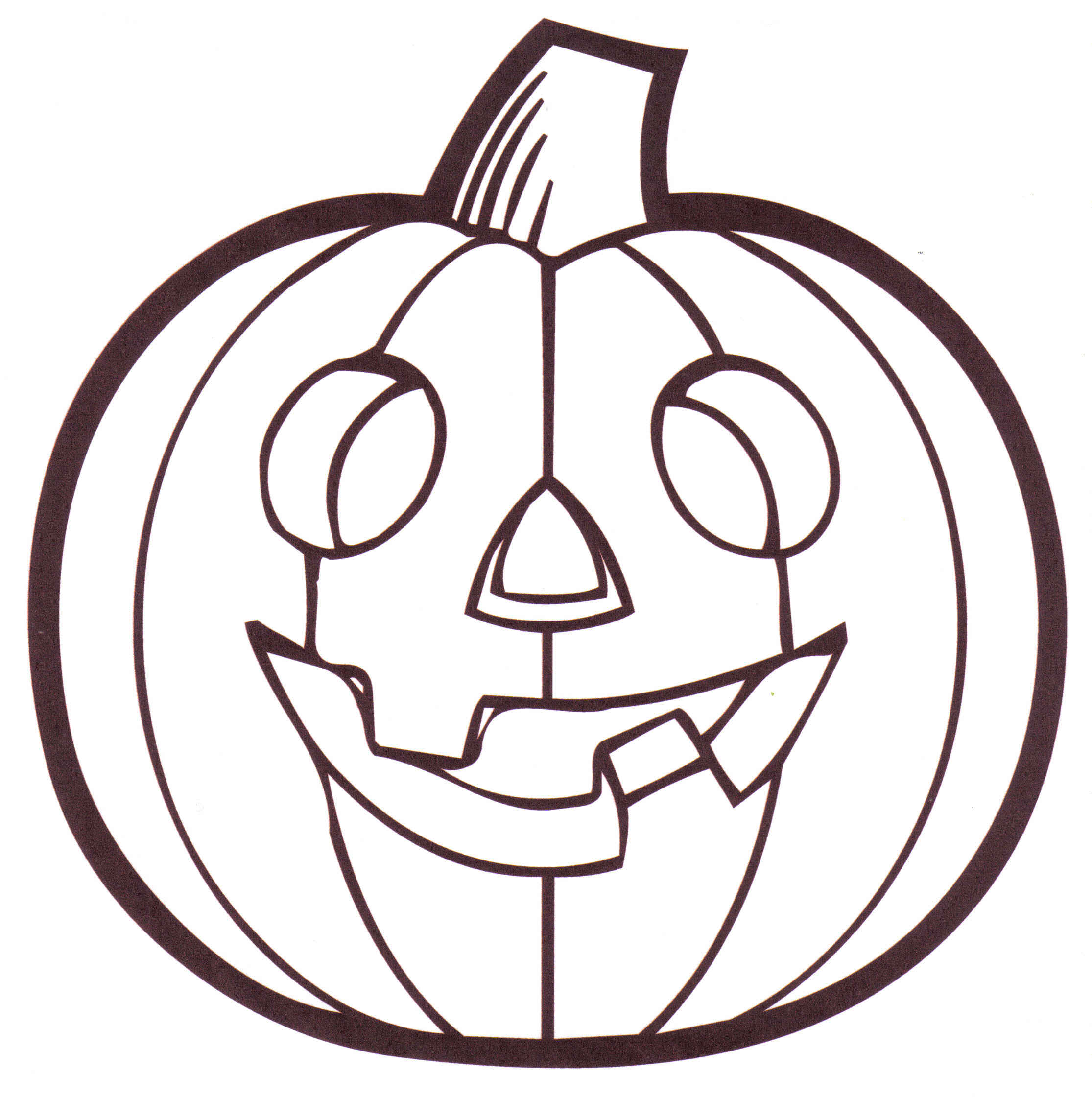 pumpkin coloring pictures 01
