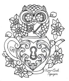 sugar skulls and roses coloring pages 03 - Coloring Pages Roses Skulls