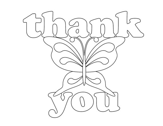 Thank You Coloring Pages Pinterest Thank You Coloring Thank You Coloring Pages