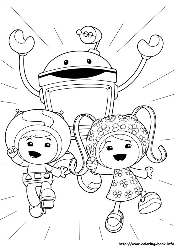 umizoomi coloring pages 01