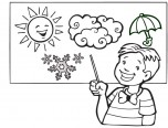 weather coloring pages pdf