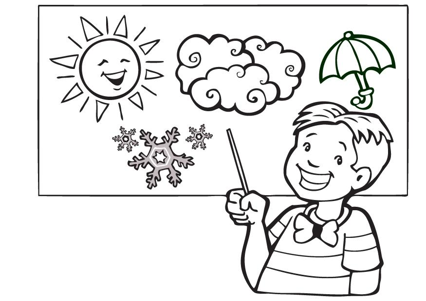 Weather Coloring Pages Pdf Free Printable Online Weather