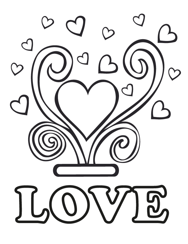 Wedding Coloring Pages 01