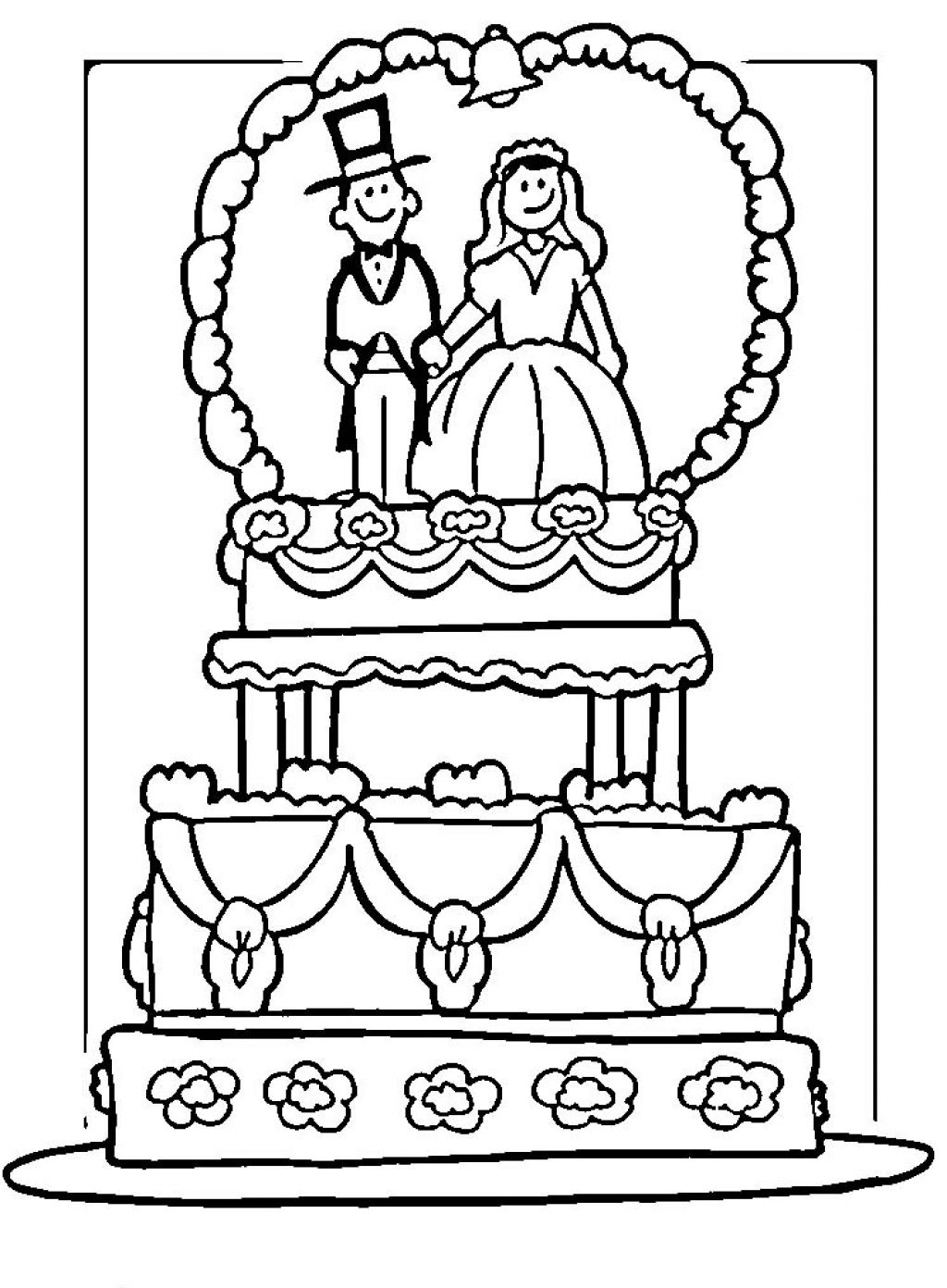Wedding coloring pages | Only Coloring Pages