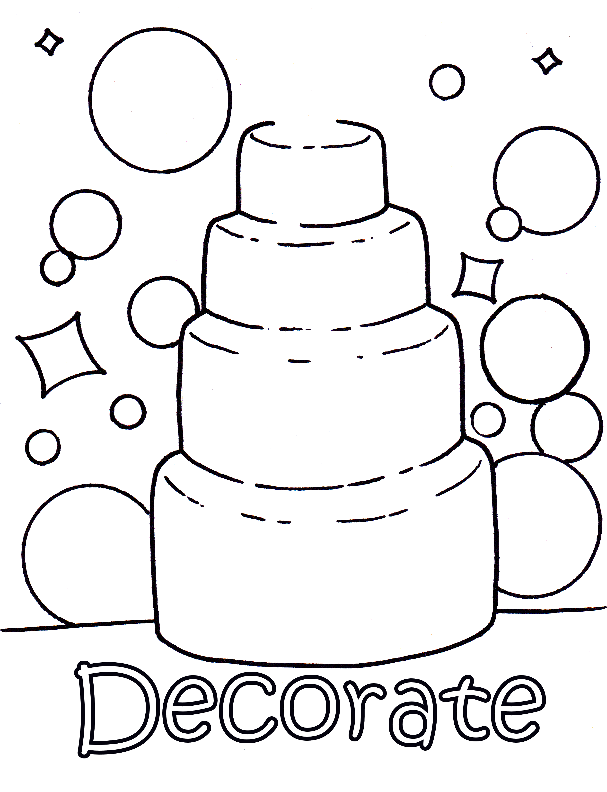 Wedding Coloring Pages Pdf : Wedding coloring pages only