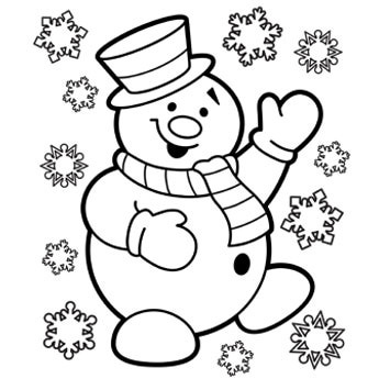 winter coloring pages coloring