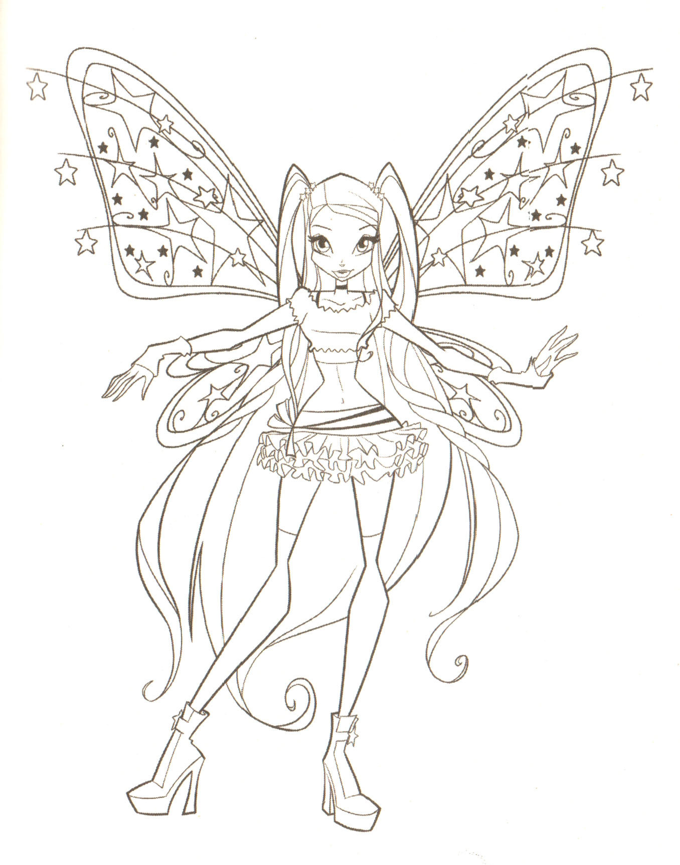 Winx Club Coloring Pages Only Coloring Pages Coloring Printing Pages