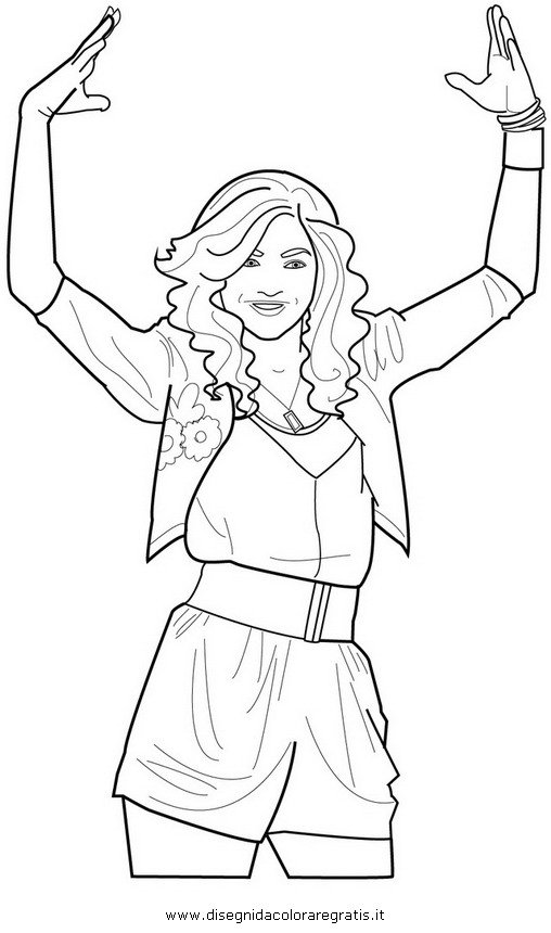 zendaya coloring pages