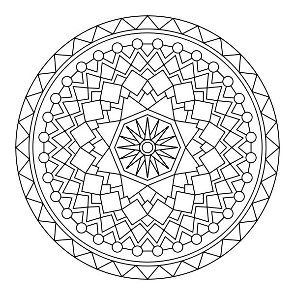 zentangle mandala coloring pages only coloring pages. Black Bedroom Furniture Sets. Home Design Ideas
