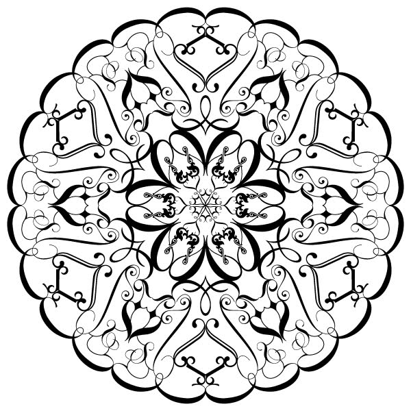 3d coloring pages