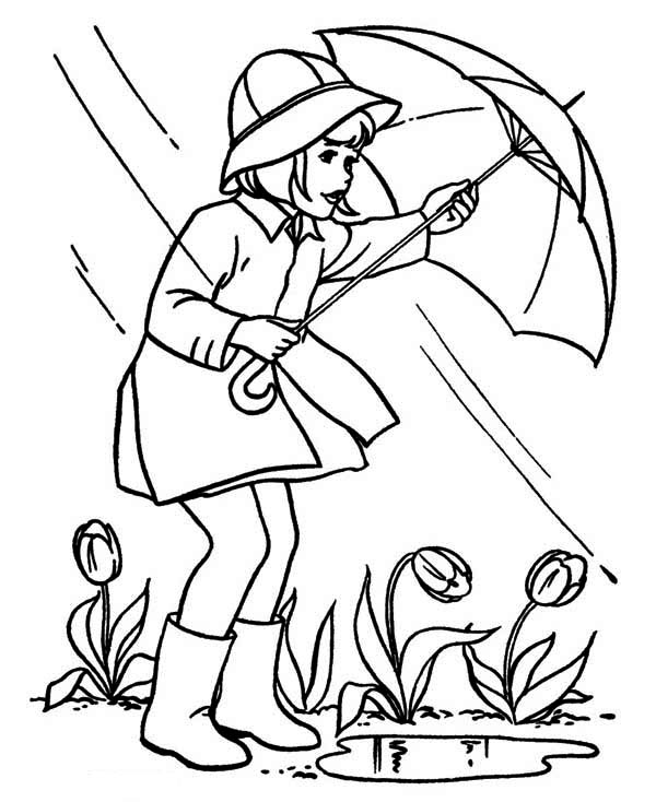 april showers coloring pages only coloring pages