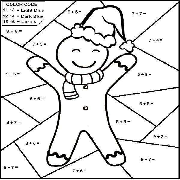 christmas coloring pages for 6th graders photo 30