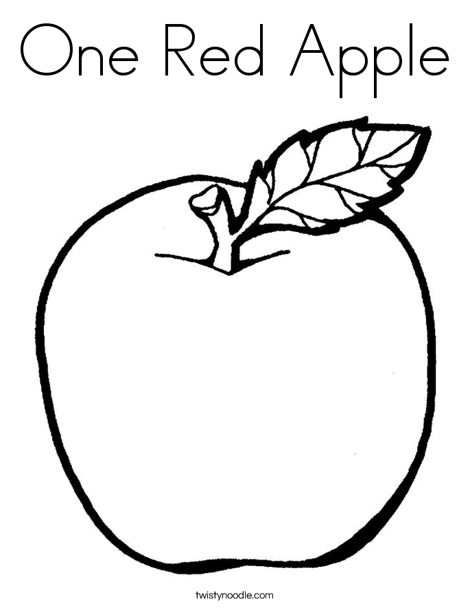 coloring pages red