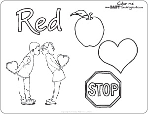 Red Coloring Sheet Pictures to Pin on Pinterest  PinsDaddy