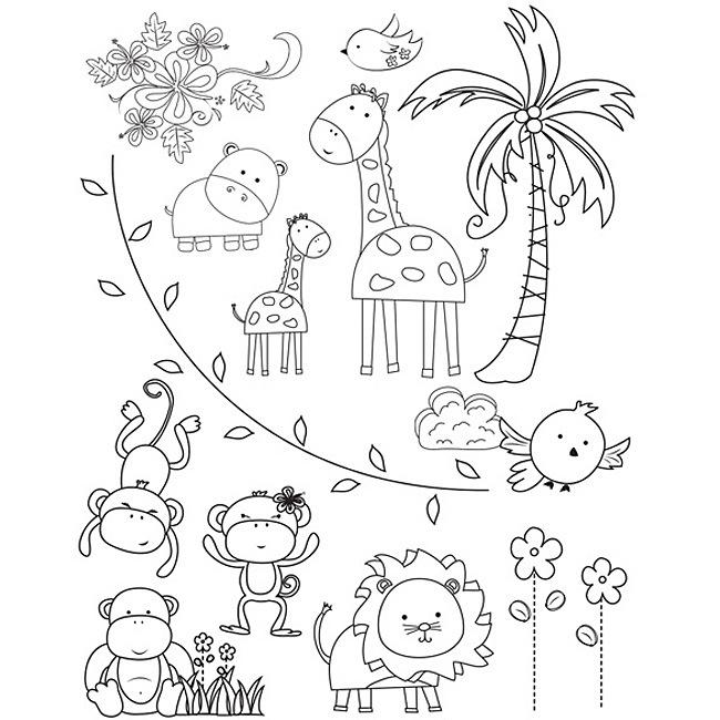 coloring pages zoo 10