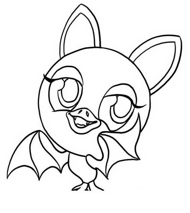 coloring pages zoobles 07