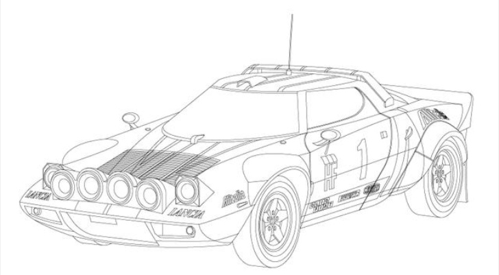 fast and furious coloring pages 01