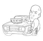 fast and furious coloring pages | coloring book - Fast Furious Coloring Pages