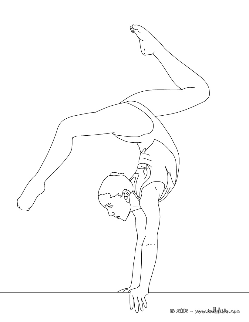 gymnastics coloring pages 01