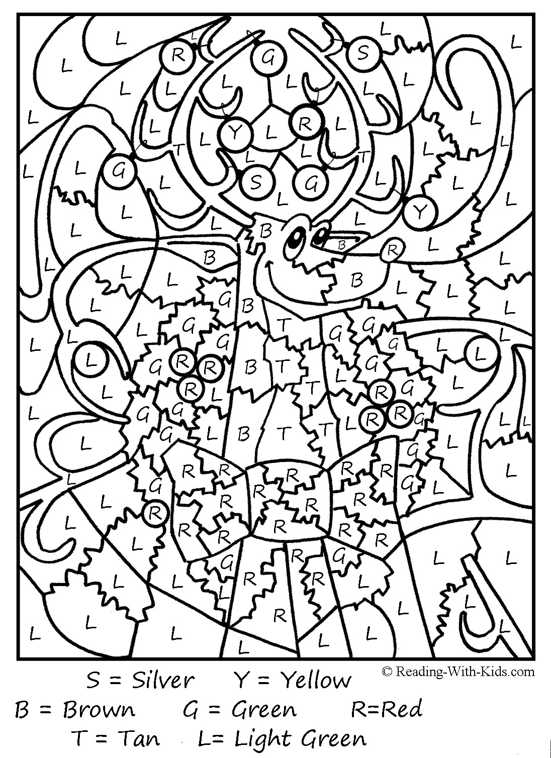 hard christmas coloring pages for adults 01