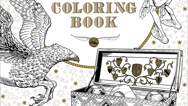 harry potter colouring book Only