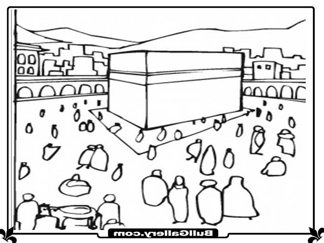hajj coloring pages - photo #26