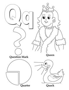 Letter 0 Coloring Pages 05