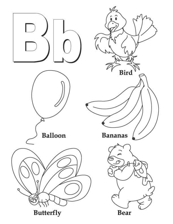 letter 0 coloring pages 07