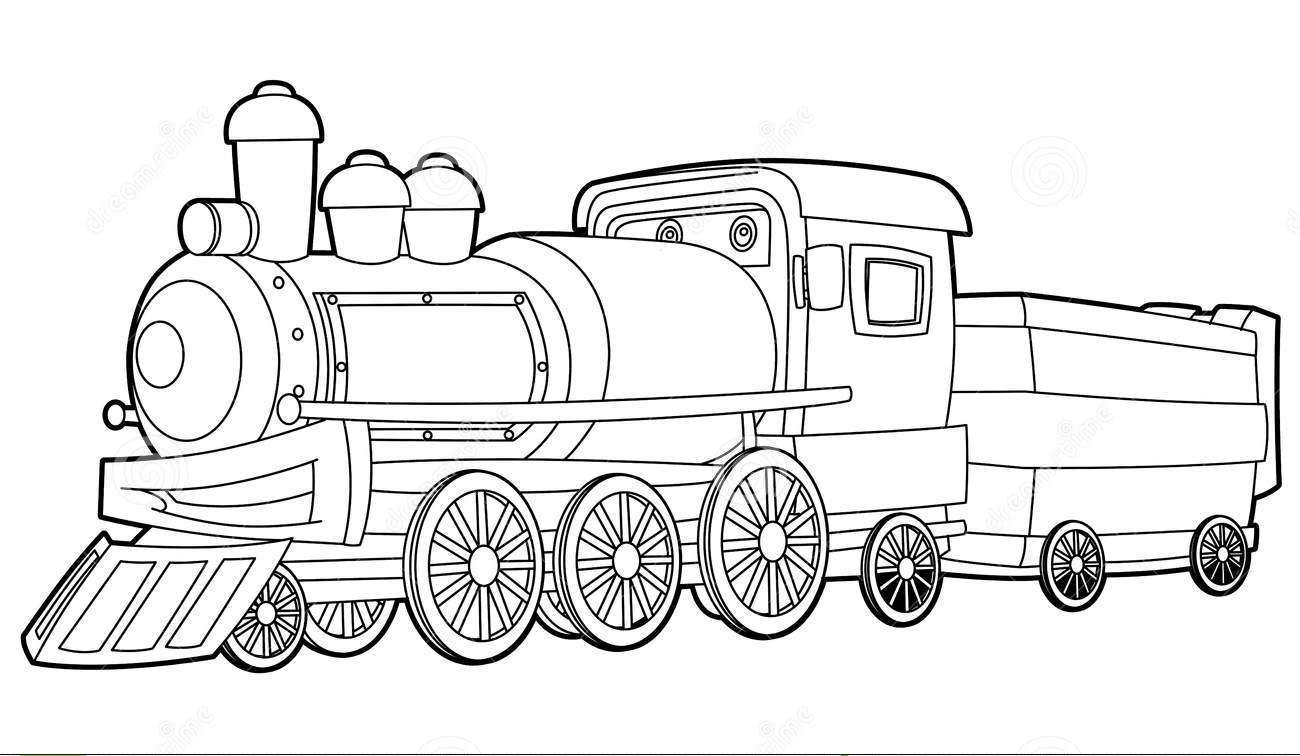 train ticket coloring pages - photo#25