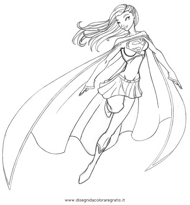 superwoman coloring pages - photo#33