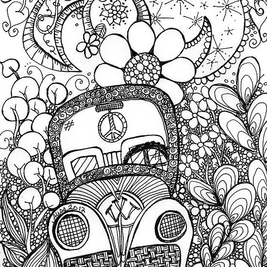 trippy coloring pages 04