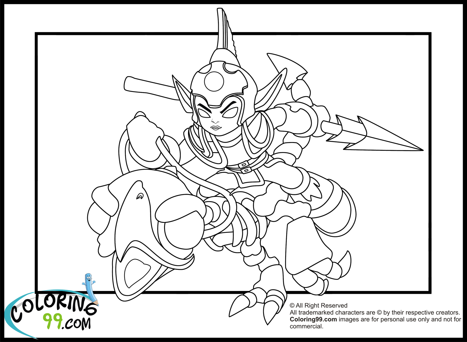 Z Strap Coloring Pages 01