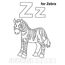 Z Strap Coloring Pages 02