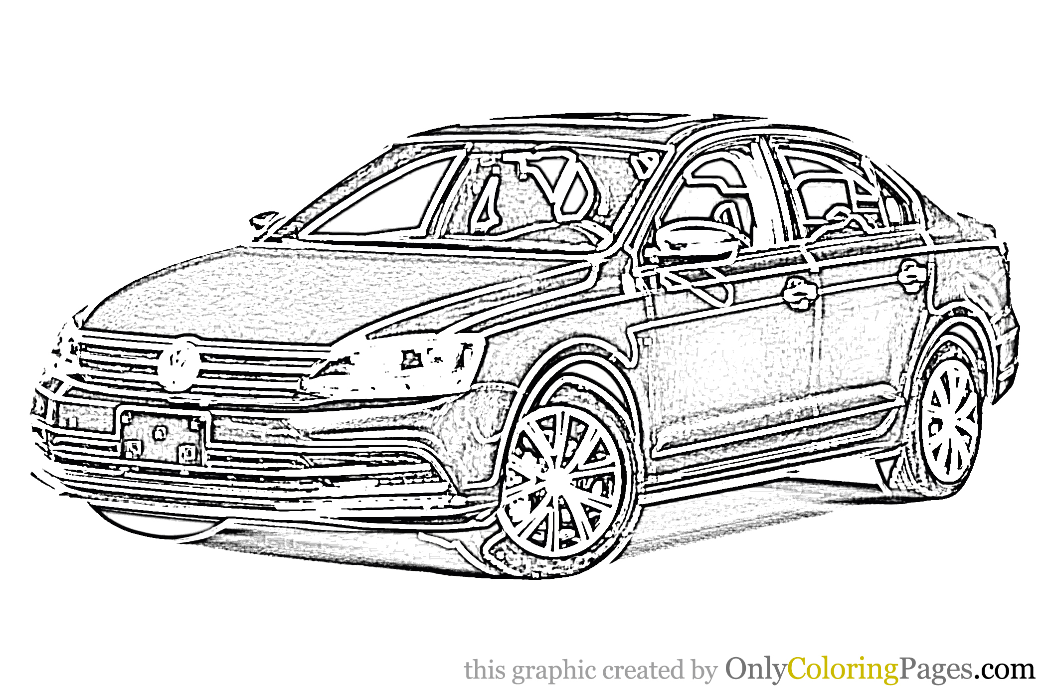 Jetta_Car_Coloring_Page