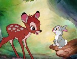 Bambi and Friends Online Coloring Page