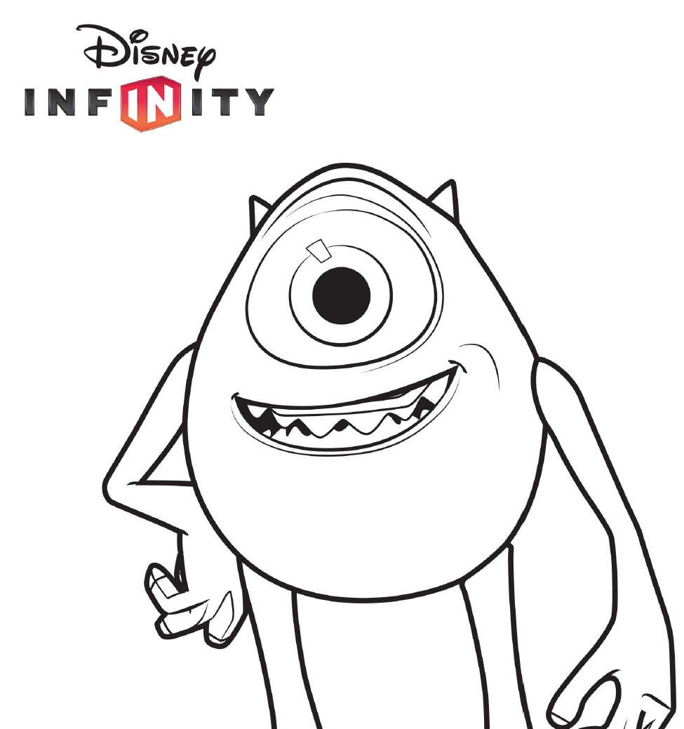 coloring pages disney infinity - photo#3