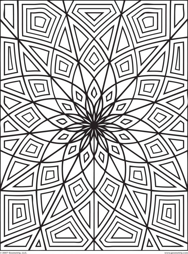 Intricate_Geometric_Coloring_Pages