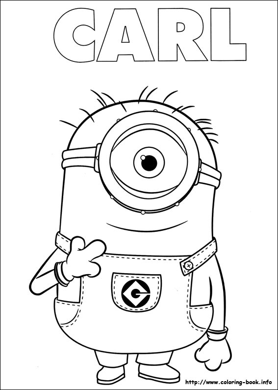 Minions Coloring Pages | Only Coloring Pages