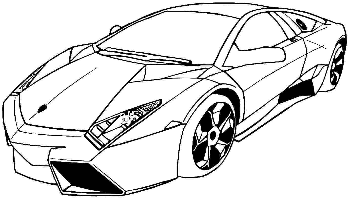 printabl sportcar coloring pages - photo#5