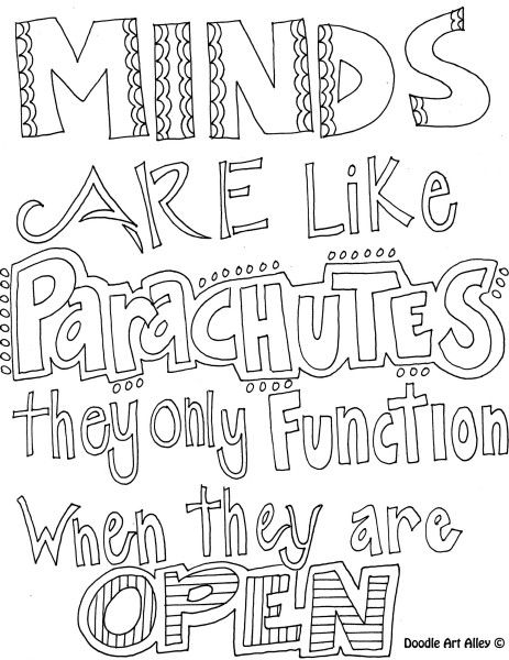 Teen Quote Coloring Pages 2