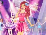 barbie night dress coloring